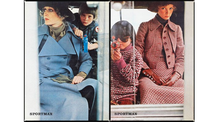 Mame-Sportmax Autumn:Winter 1970-71 photographed by Sarah Moon