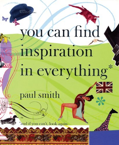 "Mame Fashion Dictionary: Paul Smith Book ""You Can Find Inspiration in Everything"""