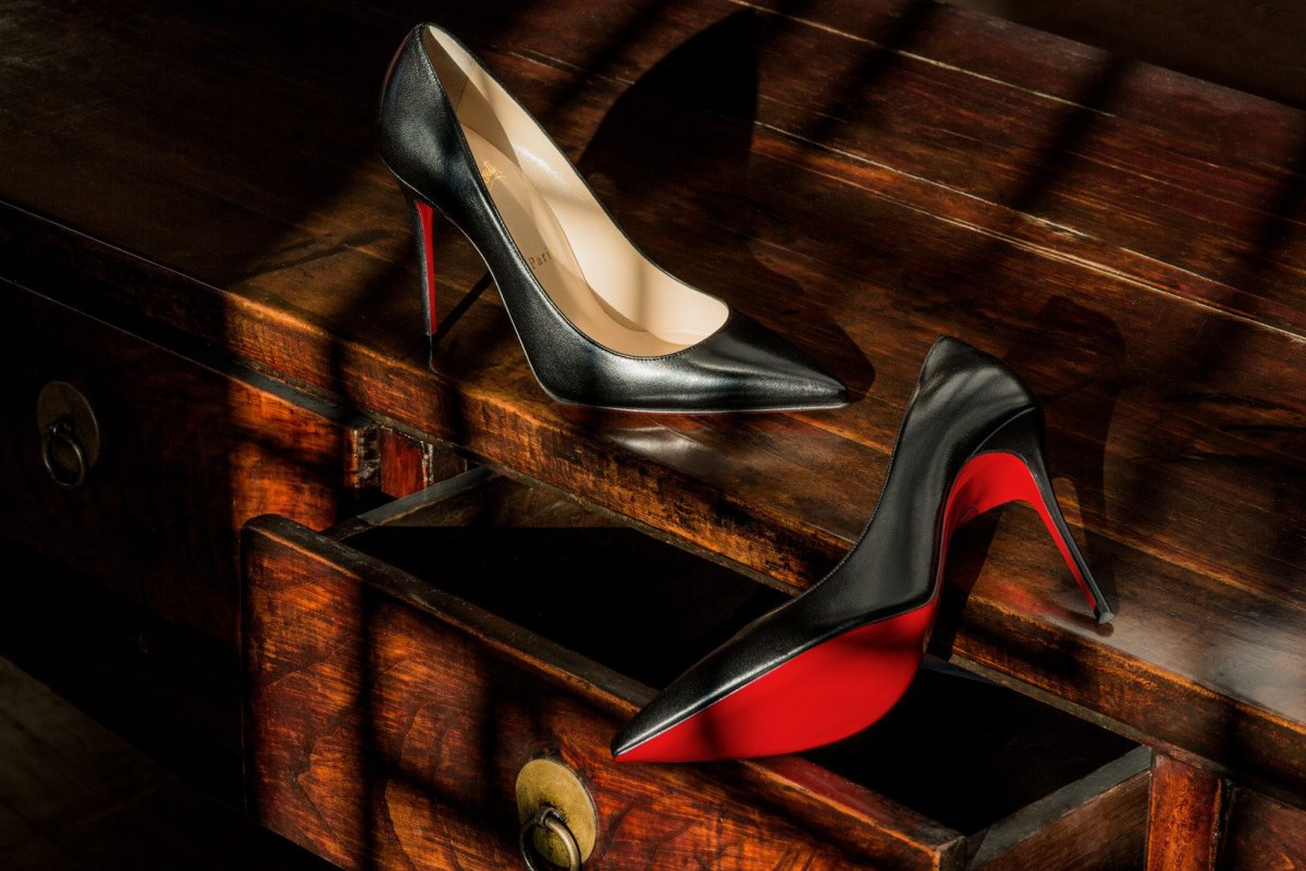 Same Fashion Dictionary: Christian Louboutin. The Iconic Red Sole Stiletto.