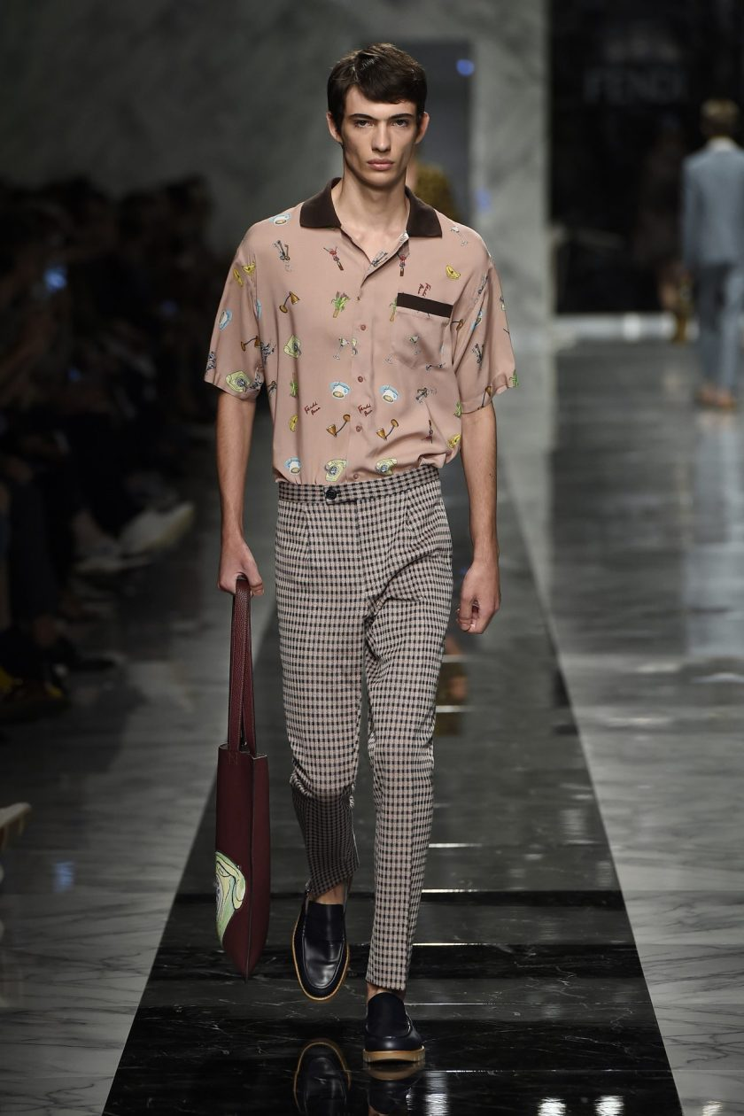 Fendi SS18 Man Collection