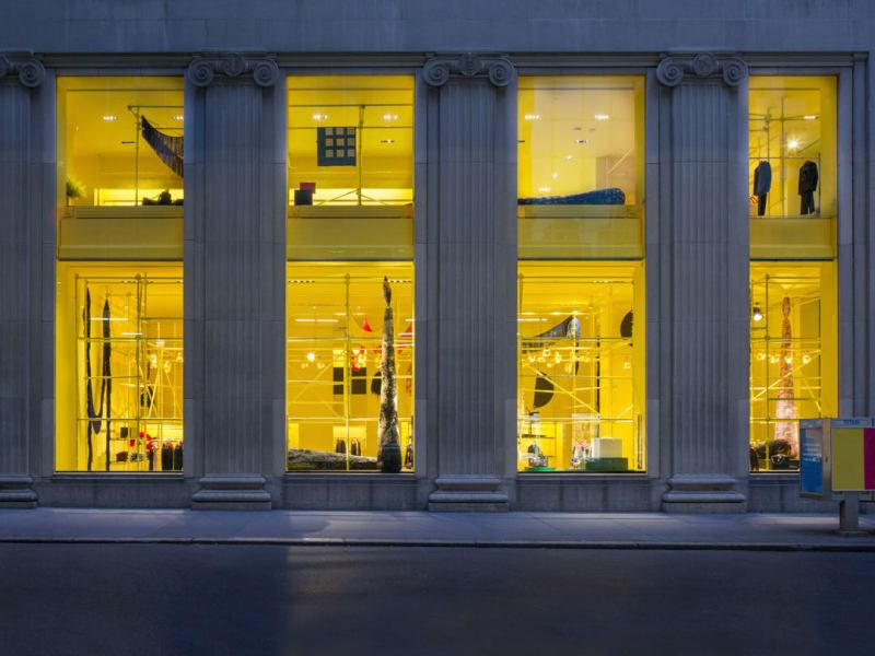 Calvin Klein Flagship Store at Madison Avenue New York