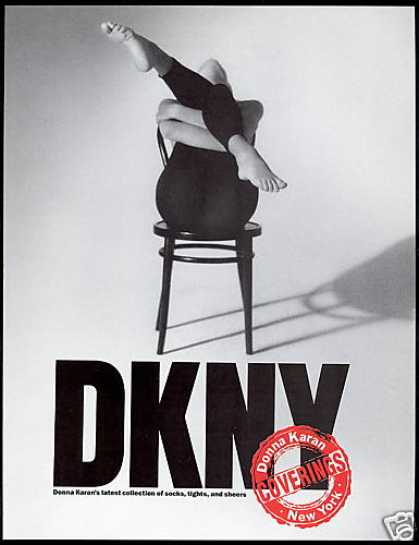 DKNY Leotard Campaign 1990