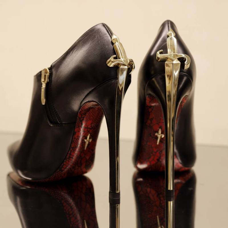 Cesare Paciotti Iconic High Heels with Logo