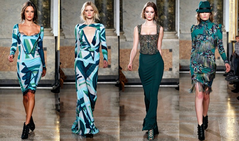 Emilio Pucci Peter Dundas 2011 Fall/Winter Collection