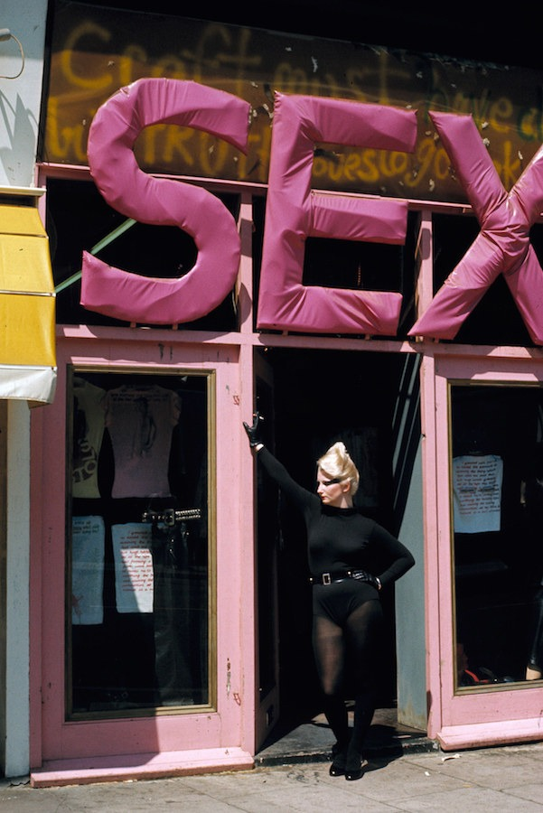 "Vivienne Westwood's Shop ""Sex"" in London 1976. Photographed by Sheila Rock"
