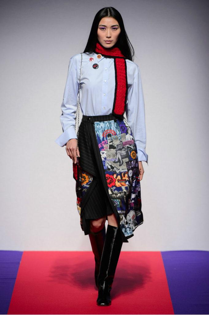 Marco Rambaldi Frame Print Skirt