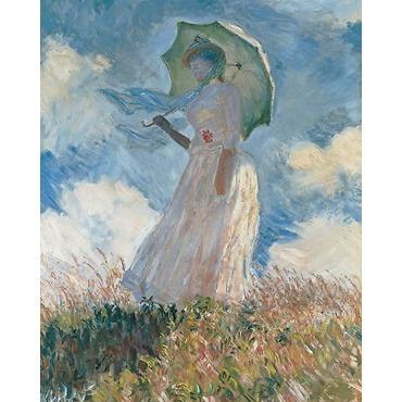 Marianna Cimini La femme à l'ombrelle, Claude Monet, 1886