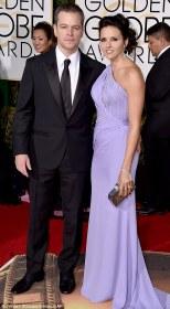 Matt Damon and wife Luciana Barroso