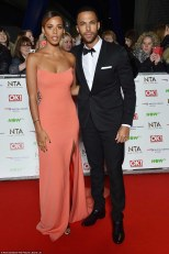 Rochelle Humes and Marvin Hume