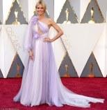 Heidi Klum in a dress by Marchesa