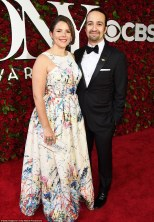 Lin-Manuel Miranda and wife Vanessa Nada