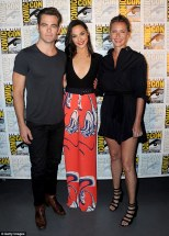 Chris Pine, Gal Gadot and Connie Nielsen
