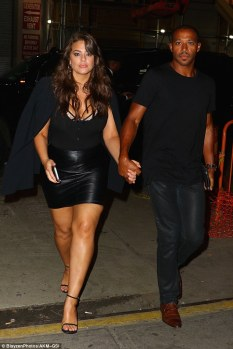 Ashley Graham & her husband Justin Ervin