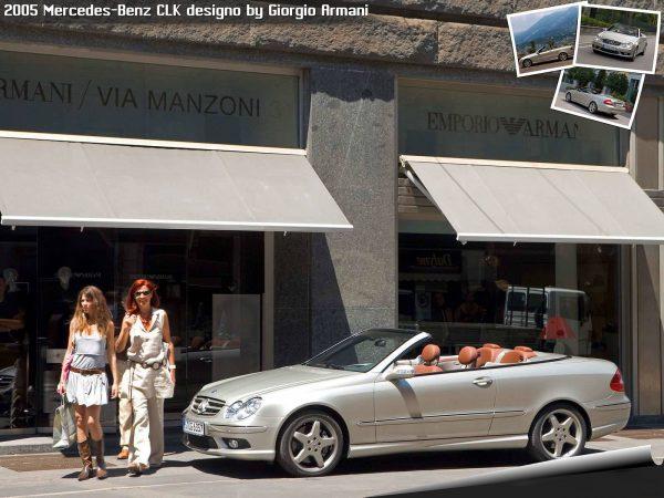 Mercedes Benz CLK By Armani