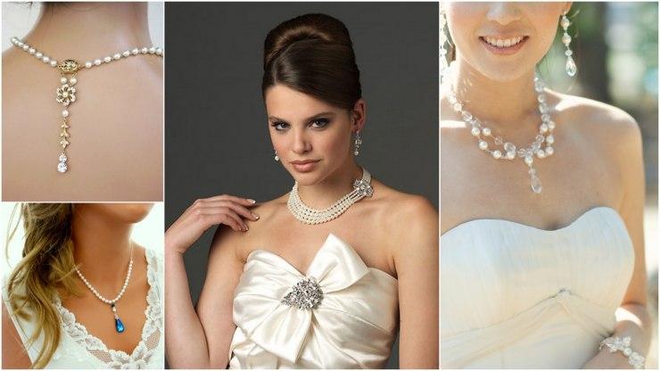 Ювелирные украшения в образе невесты