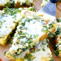 Sweet Potato and Collard Green Frittata