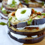 Grilled Eggplant Napoleons