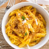 {Stovetop} Butternut Squash Macaroni and Cheese