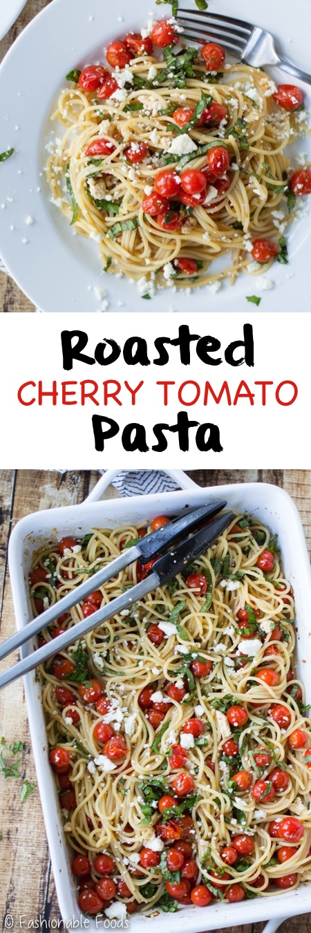 Roasted Cherry Tomato Pasta Pin