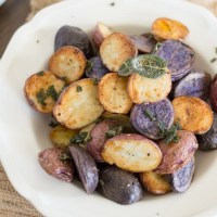 Roasted Potatoes with Brown Butter and Crispy Sage