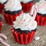 Peppermint Mocha Cupcakes