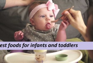 Best foods for infants and toddlers