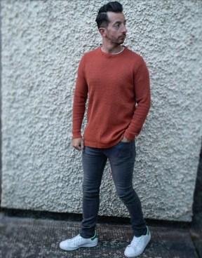 Autumn Winter Trends orange jumper