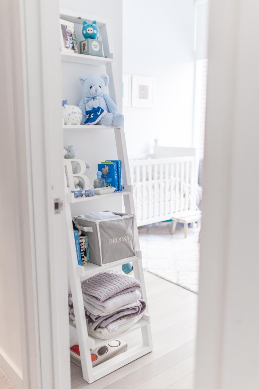 nursery shelves - fashionable hostess