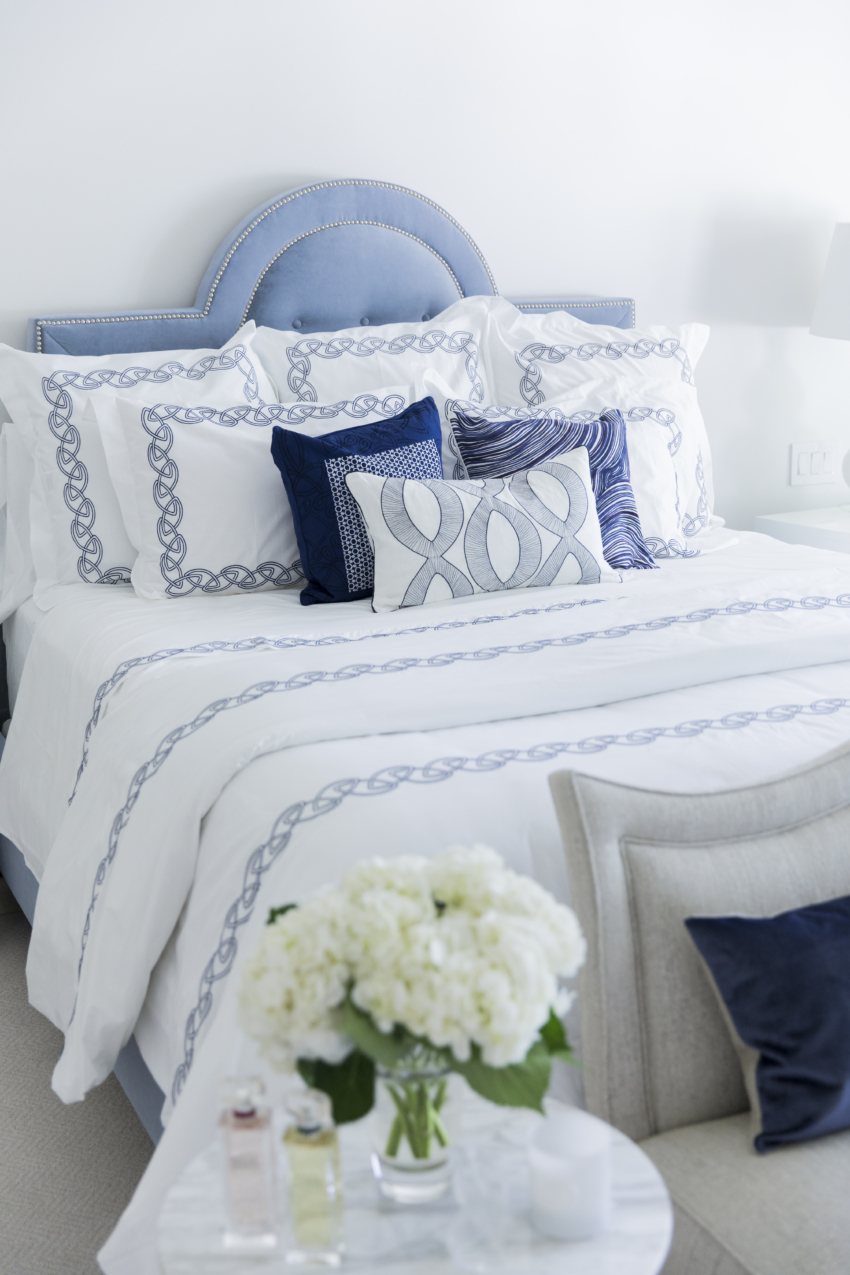 Bedroom Refresh For Summer With Yves Delorme Bedding