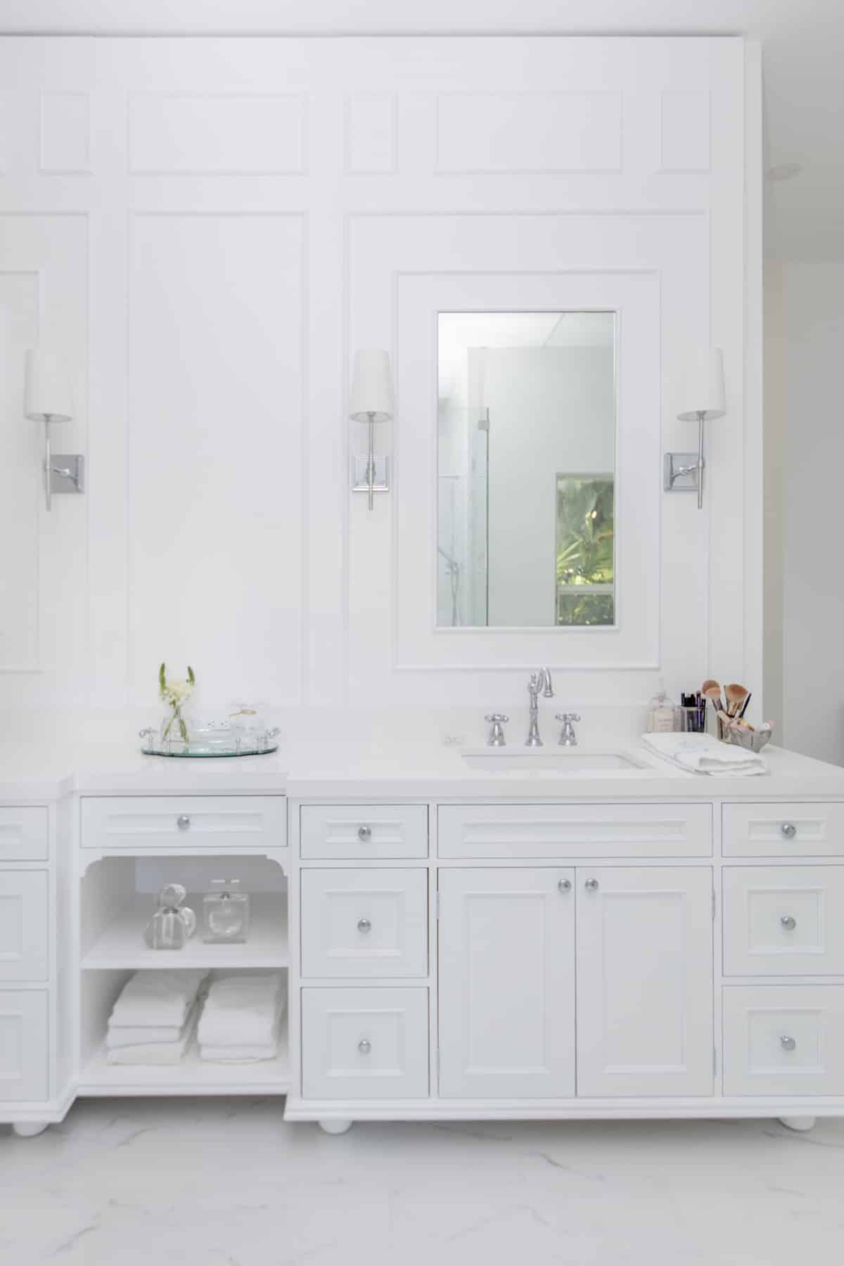 master bathroom reveal fashionable