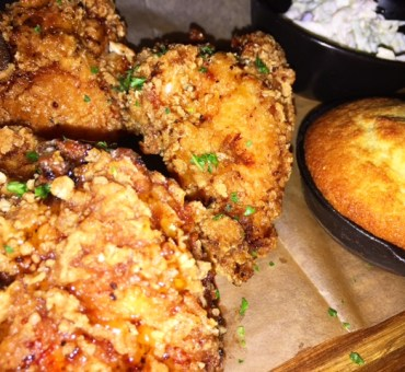 Winner, Winner, Honey Truffle Fried Chicken Dinner