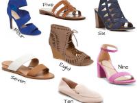 Spring Sandal Styles