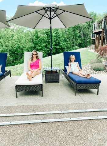 Mommy and Me Swimwear on Amazon featured by top Pittsburgh mom fashion blogger, Fashionably Late Mom