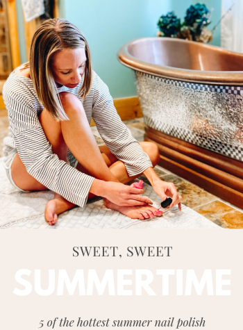 5 Hottest Summer Nail Polish Colors to Wear this Season featured by top Pittsburgh lifestyle blogger, Fashionably Late Mom