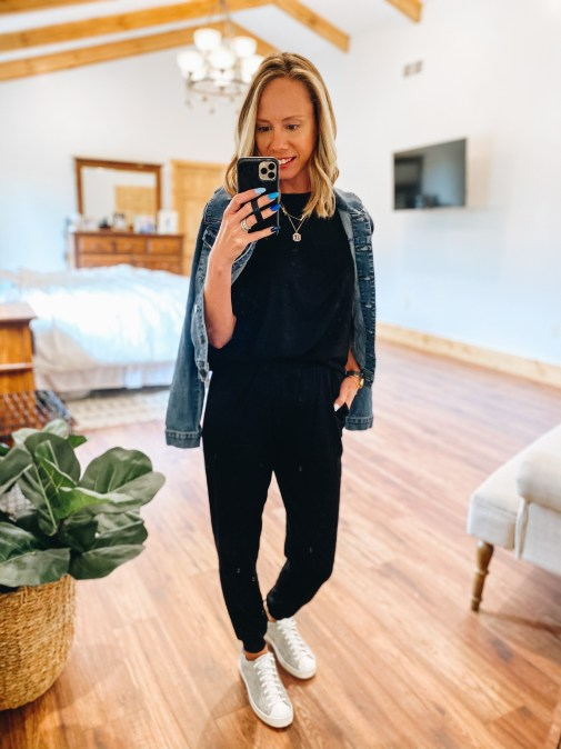 How to Dress Up Loungewear, tips featured by top Pittsburgh mom fashion blogger, Fashionably Late Mom
