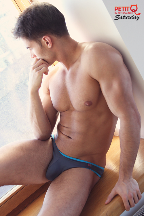 Russian Hunk Anatoly Goncharov Strips Down Fashionably Male