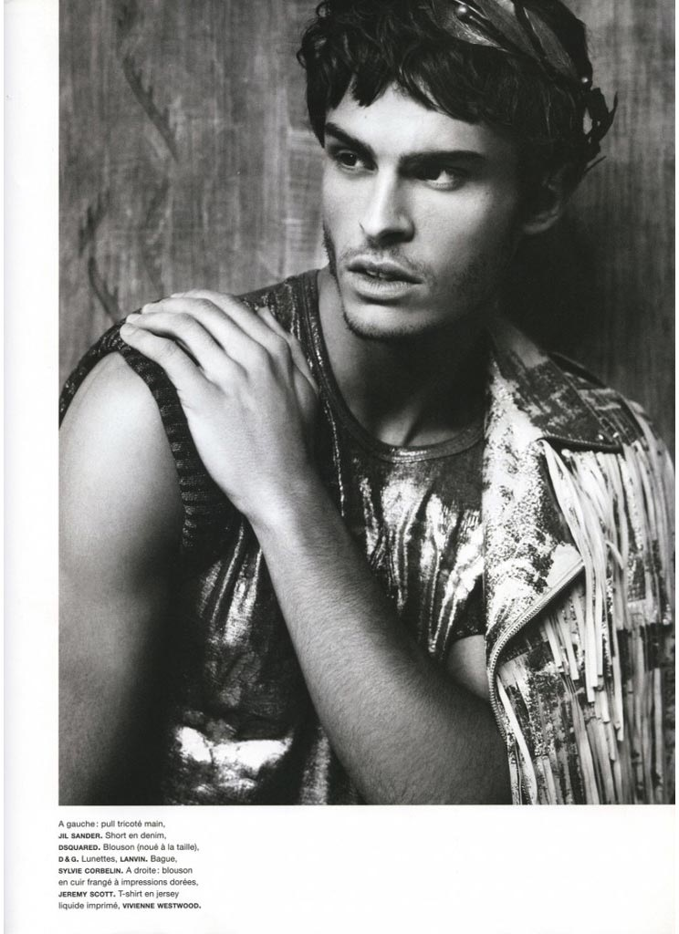 1eda7684a3a Baptiste Giabiconi for Numéro Homme - Fashionably Male