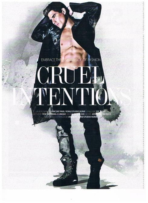 Cruel Intentions for August Man Magazine