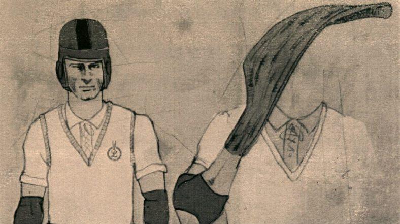 Details of the jai-alai uniform.