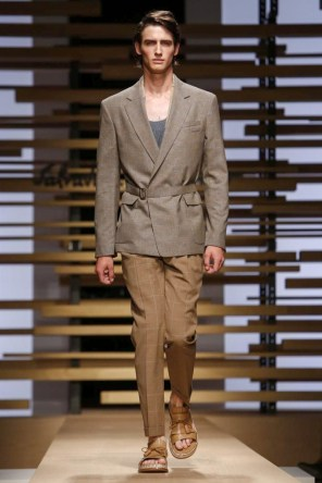 Salvatore Ferregamo, Menswear, Spring Summer, 2015, Fashion Show in Milan