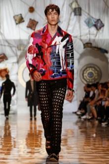 Versace, Menswear, Spring Summer, 2015, Fashion Show in Milan