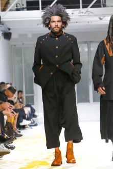 Yohji Yamamoto, Menswear, Spring Summer, 2015, Fashion Show in Paris