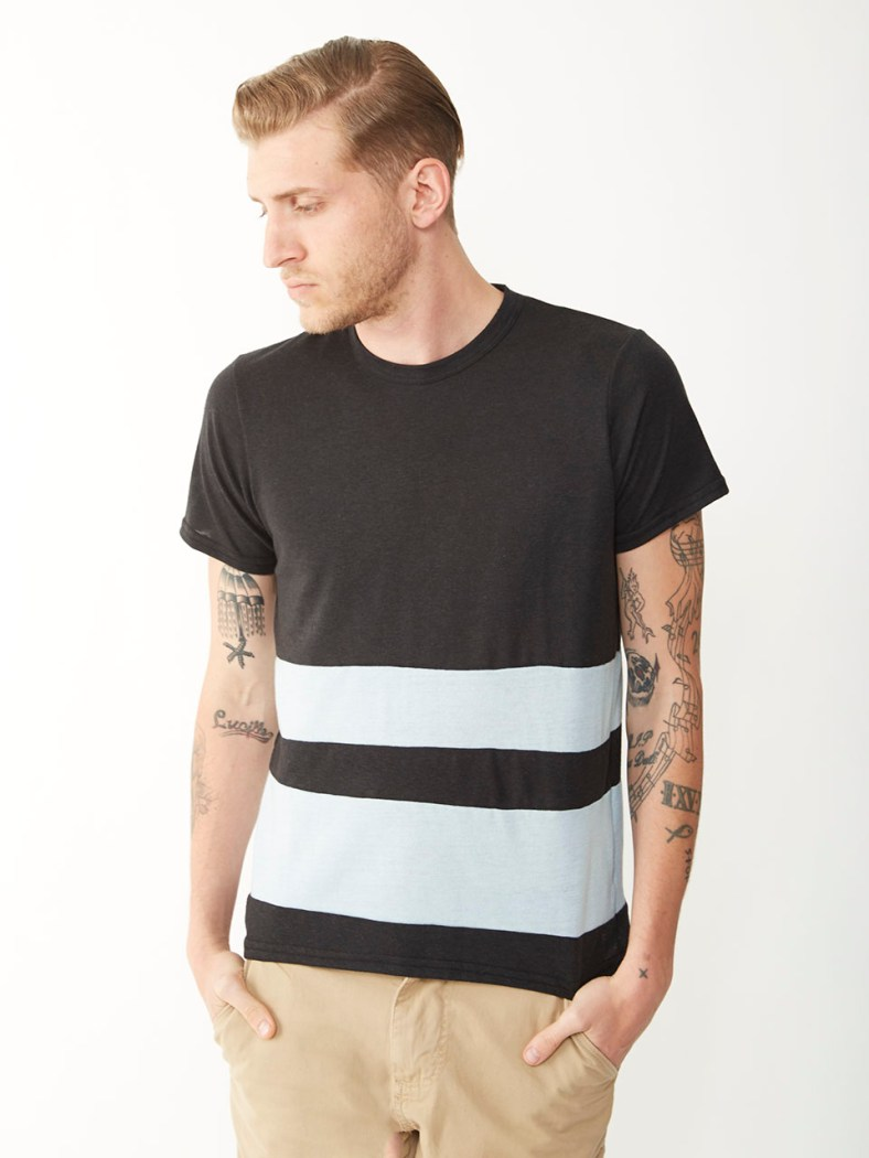 Blocked Crew T-Shirt