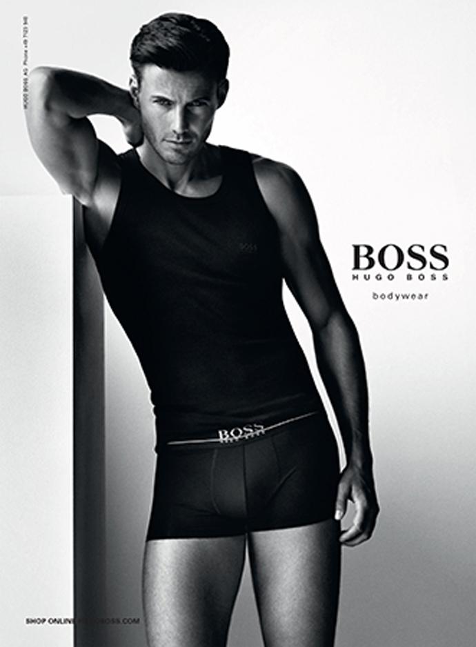 Hugo Boss Underwear S/S 2014 Ph: Alasdair McLellan Styling: Alister Mackie