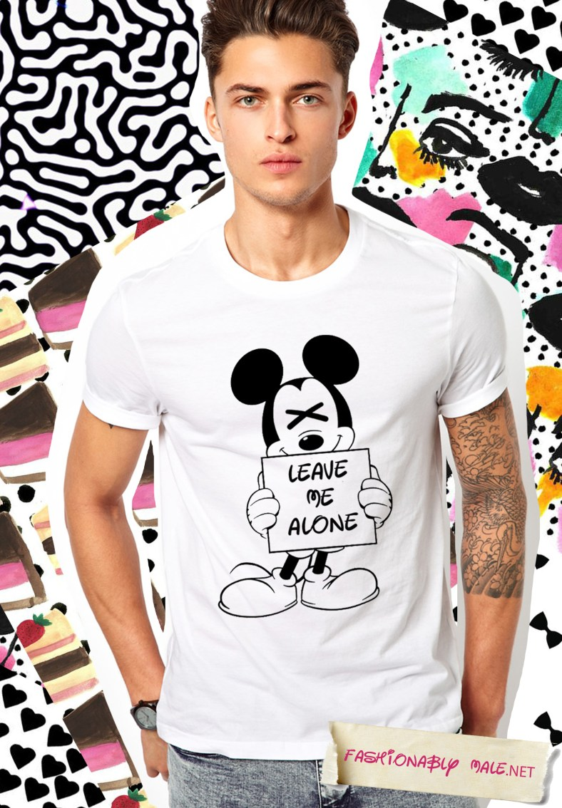 FASHIONABLY MALE X DISNEY