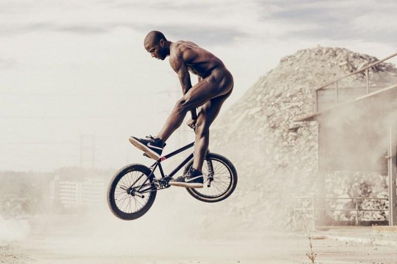 BMX rider Nigel Sylvester