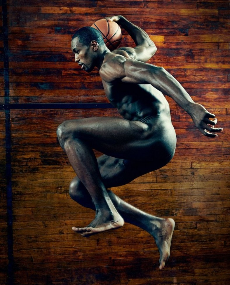 Basketball player Serge Ibaka
