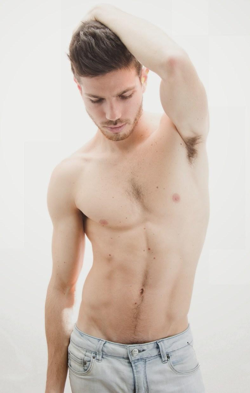 Peruvian model Bruno Vega by Tino Vargas
