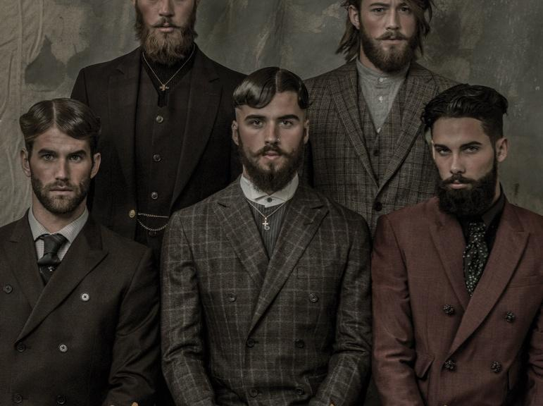 Men's Folio Indonesia September 2014. (Fashion Issue) featuring Andre Hamann, Billy Huxley, Charlie Winzar, Declan-John Geraghty & Jimmy Launnay. Photographer: Arseto Adiputra Styling: Graham Cruz Hair: Jody Taylor + Svajunas Grybe Grooming: Joey Choy