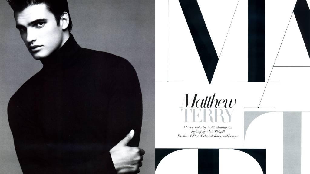 Matthew Terry in Harper's Bazaar Men Thailand F/W 2014